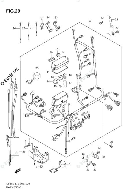 suzuki outboard parts by year 2006 oem parts diagram for harness boats net