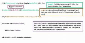 the highwayman poem analysis