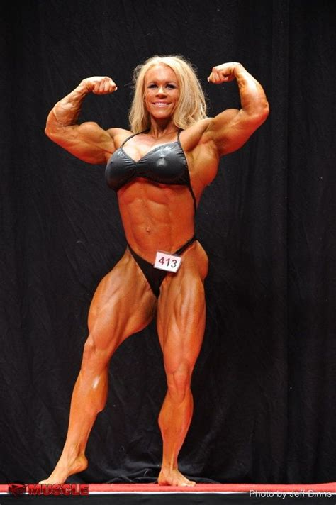 female bodybuilder aleesha young  npc usa