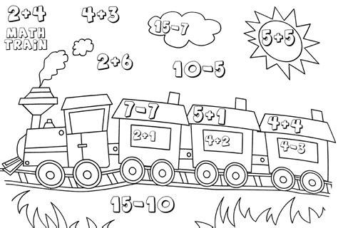 kindergarten math worksheets best coloring pages for