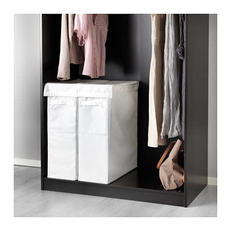 Ikea Skubb Wäschekorb Weiß Wäschesammler Kleidersack