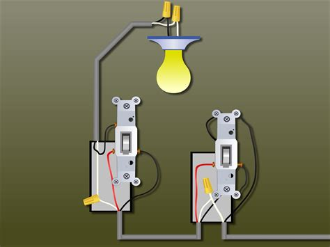 3 way light how to wire a 3 way light switch with pictures wikihow