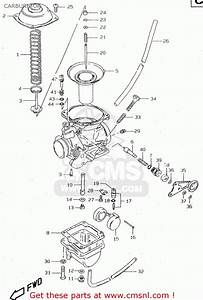 Suzuki Gn250e 1998  W  General  E01  Carburetor