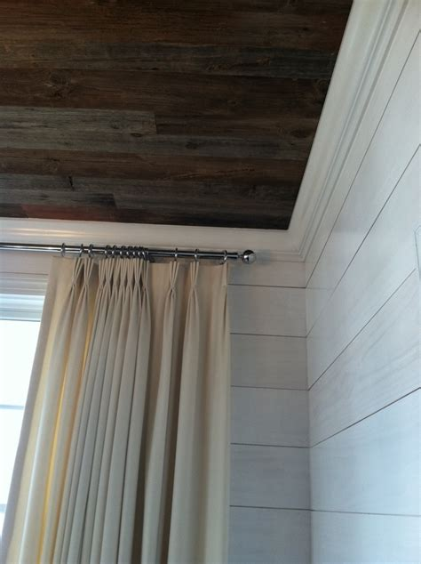 Reclaimed Shiplap by Reclaimed Barn Wood Ceiling And Whitewashed Shiplap On The