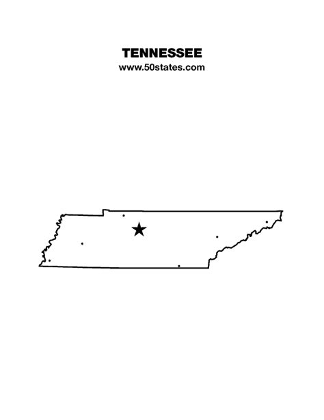 Print US States on Map & Capitals with State Abbreviations