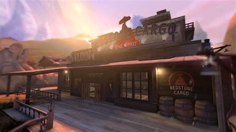 Koth Sunset Saloon Team Fortress 2 Maps