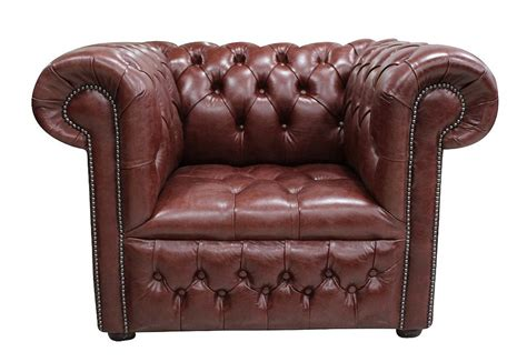 chesterfield   club armchair buttoned seat