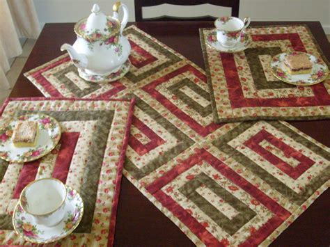 quilted placemats patterns placemats on placemat place mats and quilt as