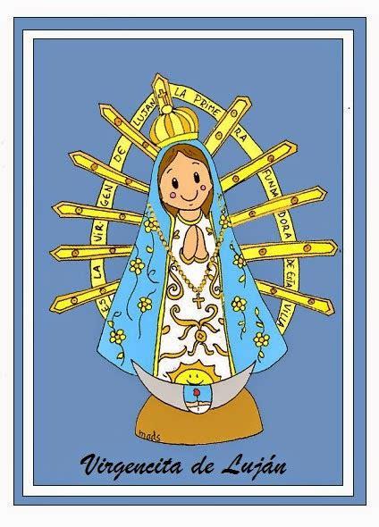 Mis ilustraciones: Nuestra Señora de Luján
