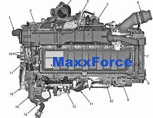 Maxxforce 11  U0026 13 Epa10 Engine Service Manual  U0026 Epa10 Diagnostic Manual Cd