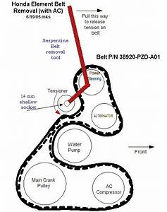 26 2008 Honda Accord Serpentine Belt Diagram