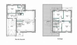plan maison contemporaine toit plat le monde de lea With plan maison contemporaine toit plat gratuit
