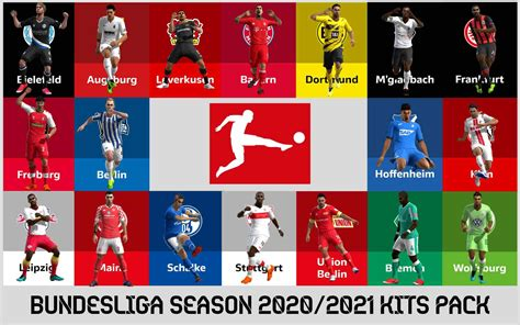 ultigamerz: PES 2013 Bundesliga 2020-21 Full Kits-Pack