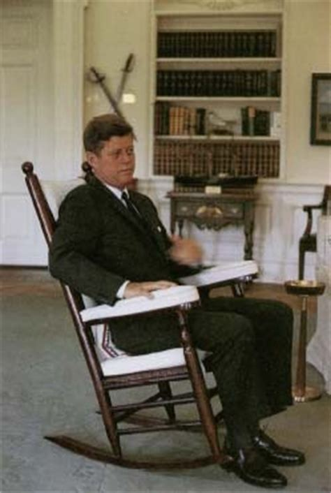 jfk rocking chair history by thompkins h matteson 1853