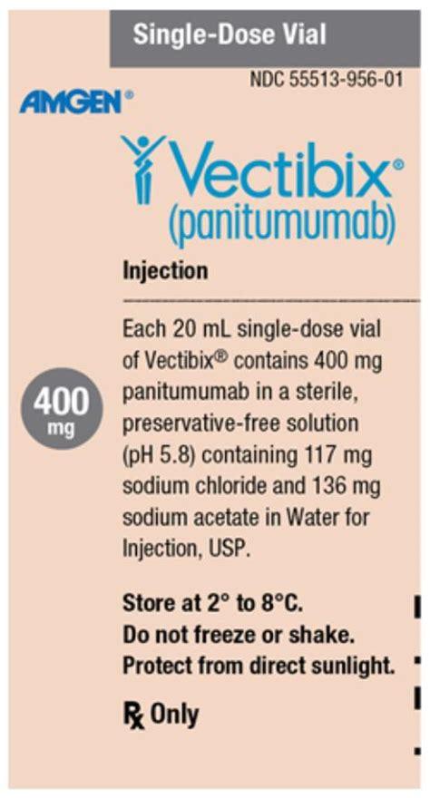 Vectibix - FDA prescribing information, side effects and uses