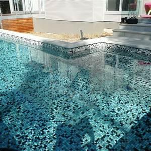 piscine en emaux de verre ezarri 25008d gris clair fonce With emaux de verre pour piscine