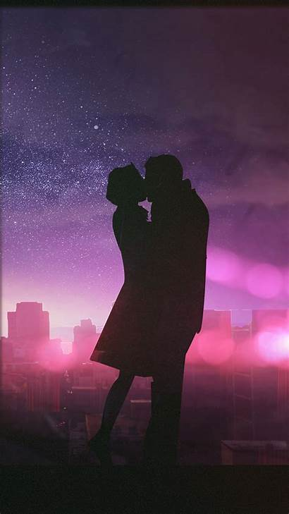 Kissing Kiss Wallpapers Couple Mobile Valentine Phone
