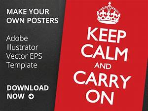 13 Keep Calm Vector Images - Keep Calm and Carry On Vector ...