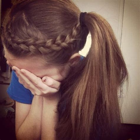 my braided updo for sports cantbelieveididthis hair