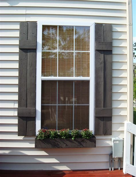 Exterior Window Shutters With Maximum Functional Features