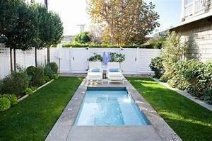 petit jardin avec piscine pour un ete rafraichissant With amenagement de jardin avec piscine 7 10 idees pour amenager lexterieur de la maison avec