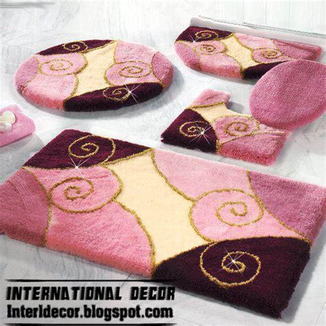 modern bathroom rug sets baths rug sets models colors