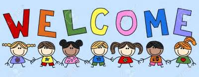 Image result for Welcome Clip Art children