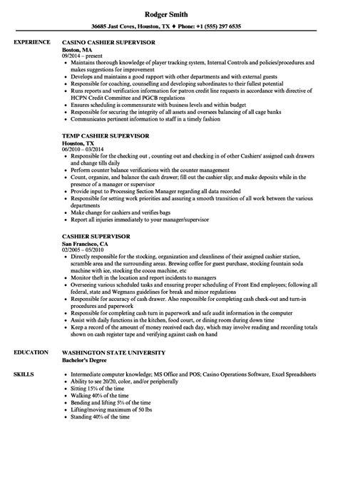 12-13 supervisory experience resume | loginnelkriver.com
