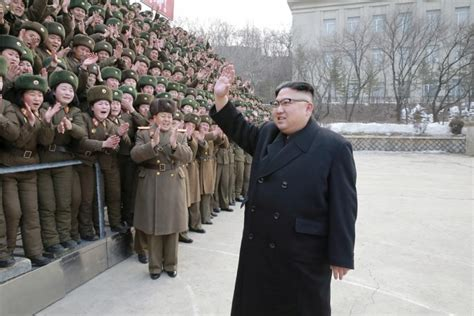 Jun 22, 2021 · kim jong un, fearing loss of control, has grooming and parenting advice for north korean women members of the socialist women's union of korea perform a flag waving routine for propaganda in. North Korea Update: US Has 'No Good Military Options ...