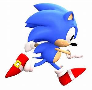 Classic Sonic Running by kamtheman56 on DeviantArt