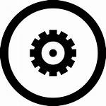 Icon Settings Button Circular Svg Onlinewebfonts