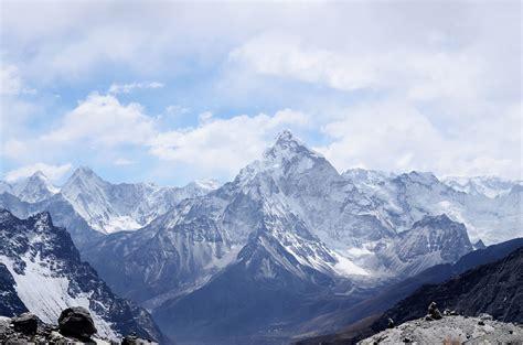 image libre nature ciel neige nuages paysage montagne