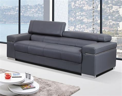 contemporary italian leather sectional sofas contemporary sofa upholstered in grey thick italian