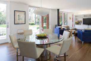 glass dining table decorating ideas modern glass tables