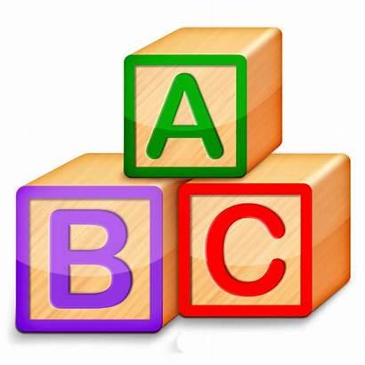 Abc Clipart Alphabet Blocks Transparent Spelling Song