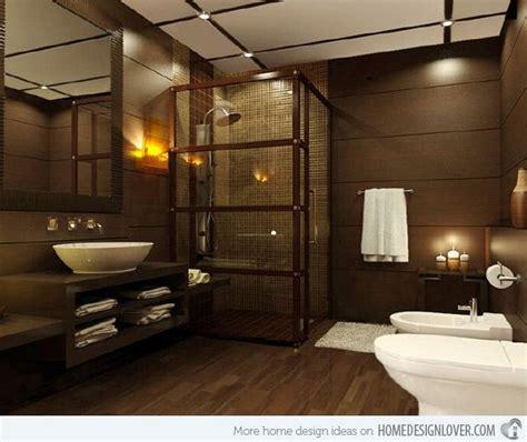 Modern Brown Bathroom Ideas by 25 Best Ideas About Brown Bathroom Decor On