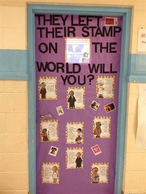 black history month classroom door classroom bulletin