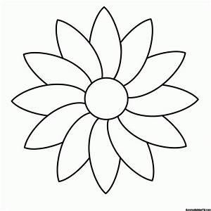 Blumen, Malvorlage
