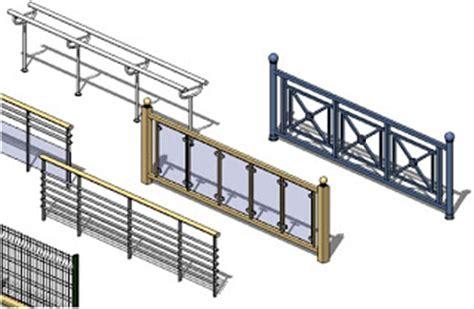 revit architecture  essential working  railing