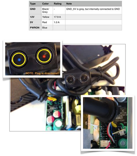 Schematics Xbox One Power Adapter Wiring Converting