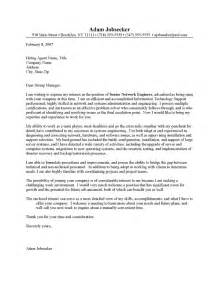 network engineer resume cover letter sles network systems engineer cover letter sle resume cover letter
