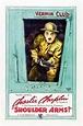 Shoulder Arms! (1918) Charlie Chaplin - silent film poster ...