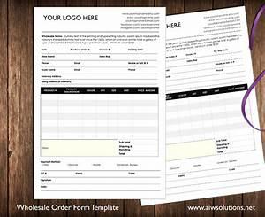 Restaurant Food Order Form Template Custom Catalog Custom Line Sheet Line Sheet Design