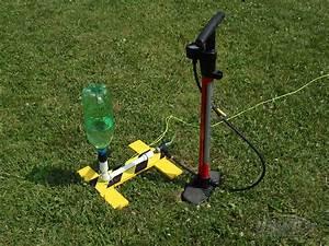 Air water rocket launcher