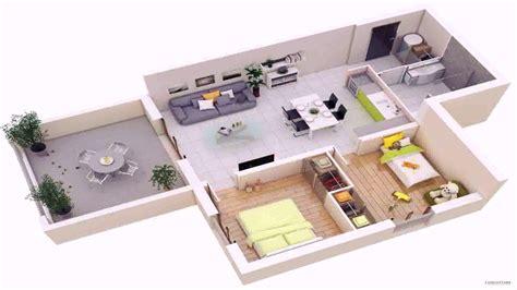House Plan 2 Bedroom 3d (see description) YouTube