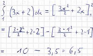 Obere Dreiecksmatrix Berechnen : integration zur fl chenberechnung mit integrationsgrenzen ~ Themetempest.com Abrechnung