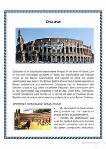 Colosseum Worksheet