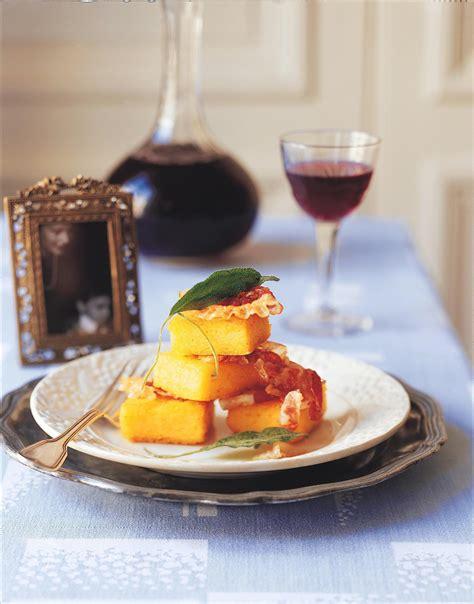 sauge cuisine recettes recette polenta à la sauge cuisine madame figaro