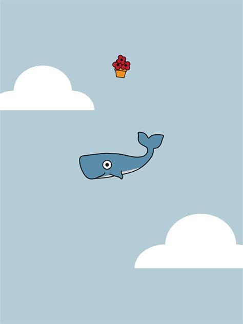 hitchhikers whale mobile wallpaper miniwallist