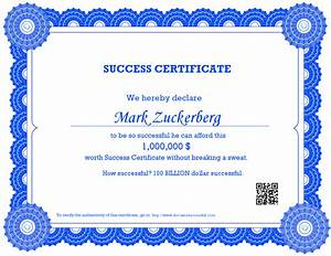make your own printable certificate